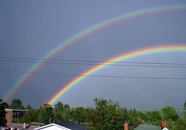 après la pluie colorée