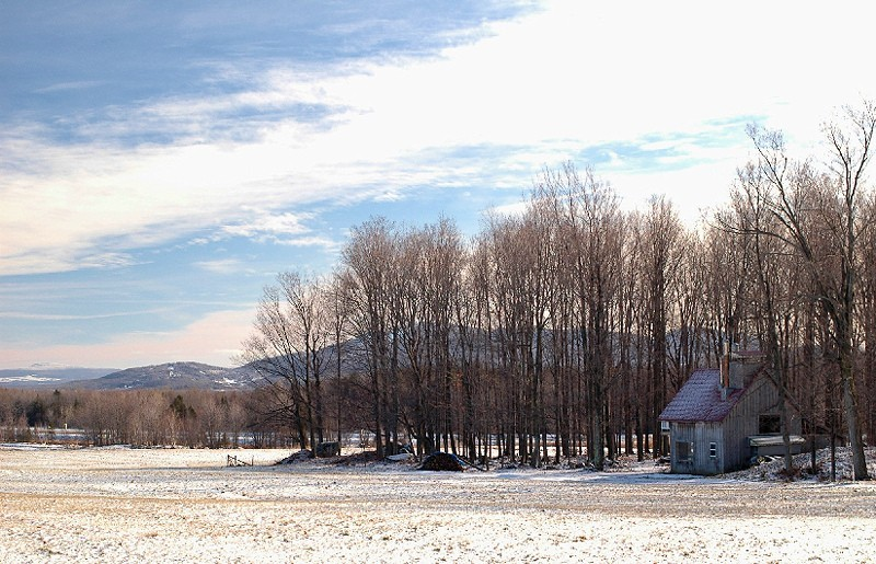 petite cabane en canada