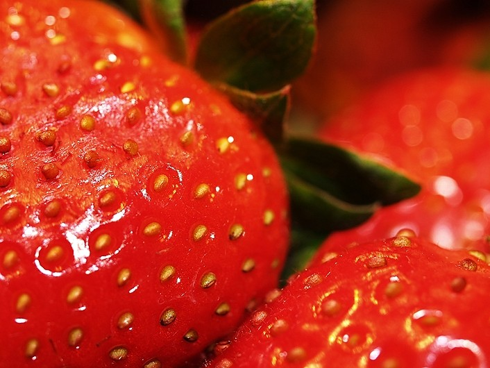 des fraises ! - strawberries!