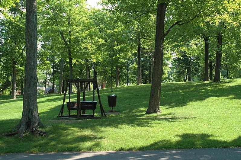 l'immobile sur tapis vert