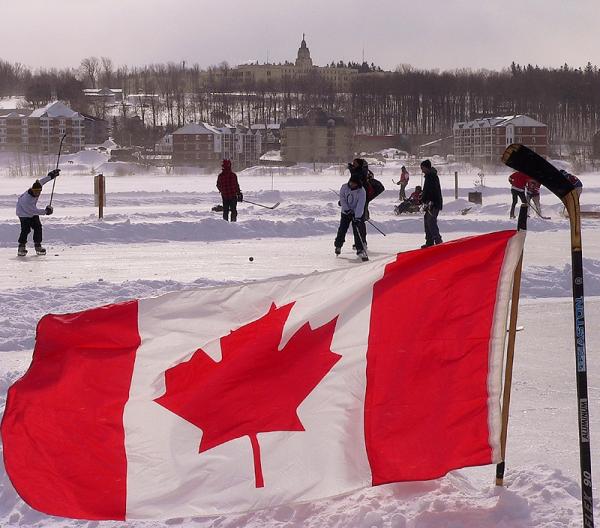 équipe canadienne de hockey de fin de semaine