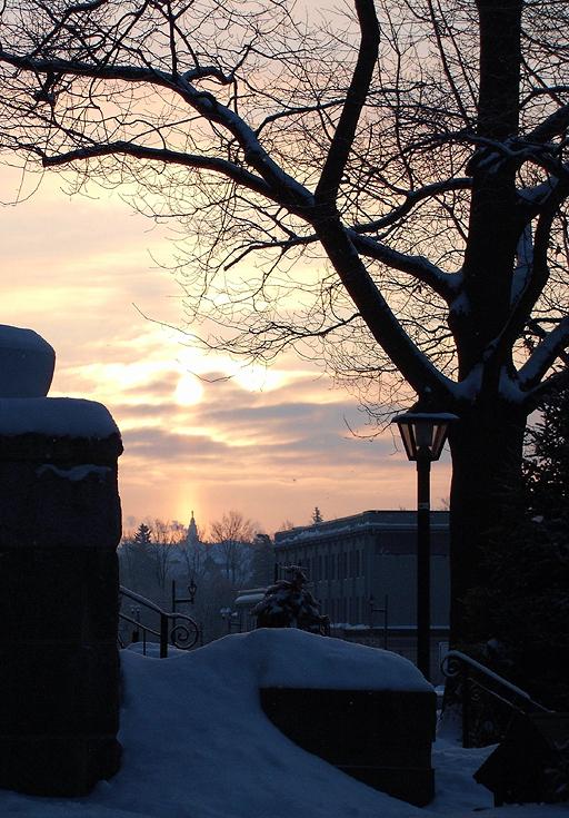 mont Sacré-Coeur sous la lumière du matin