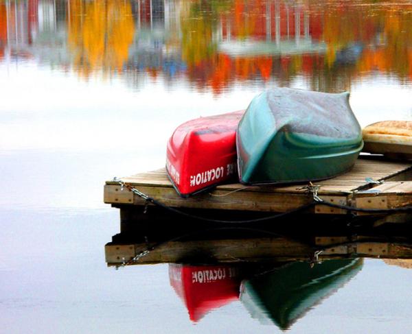 enlacés sur le quai - hugging on the dock