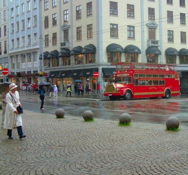 Bergen in the Rain