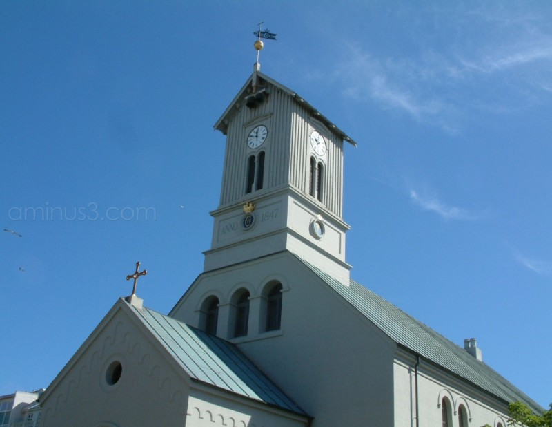 Dom Kirkje Reykjavik