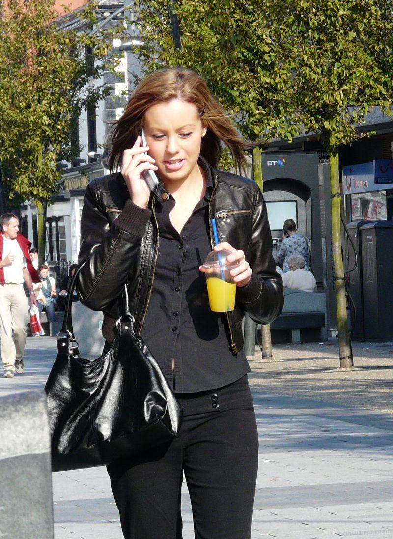Talking on Telephones