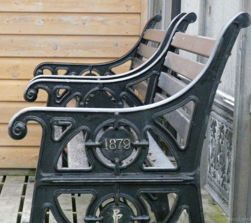 Chairs on Paignton Pier, Devon