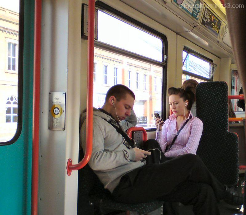captured on the manchester metrolink