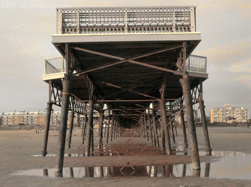 Under St Anne's Pier