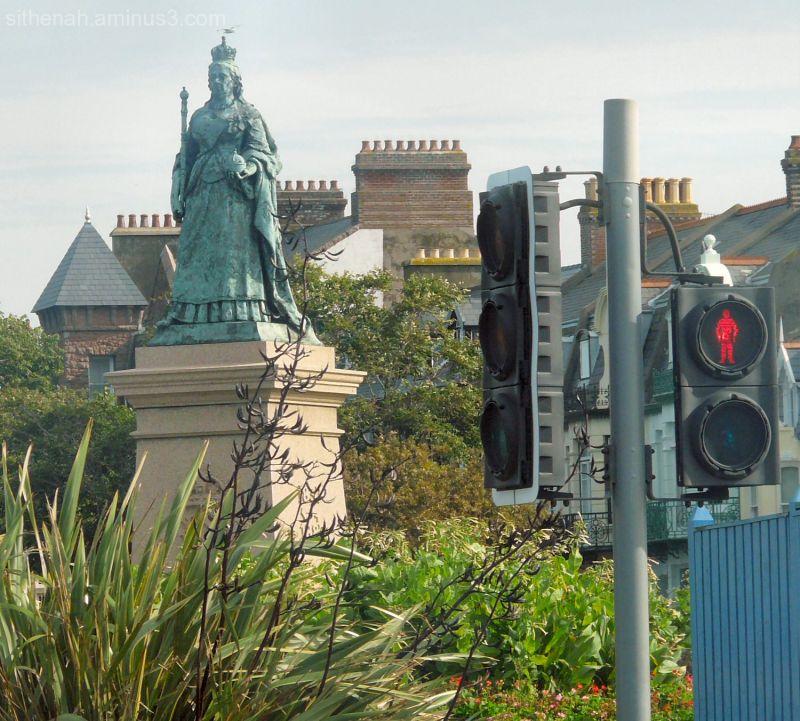 Queen Victoria in St Helier