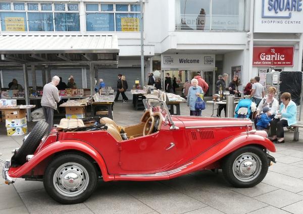 Classic Sports Car at Hyde