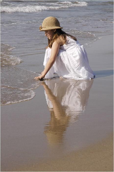 Lágrima en la arena