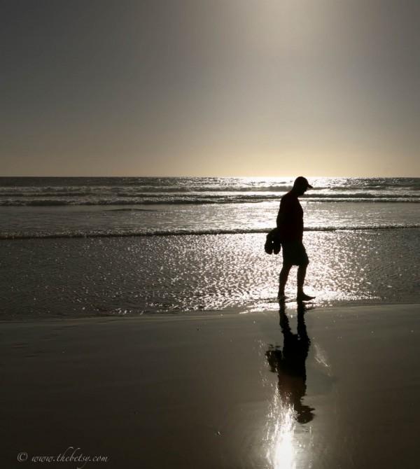 michael beach reflection pacific todos santos