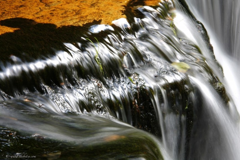 waterfall jamison road ricketts glen slow water