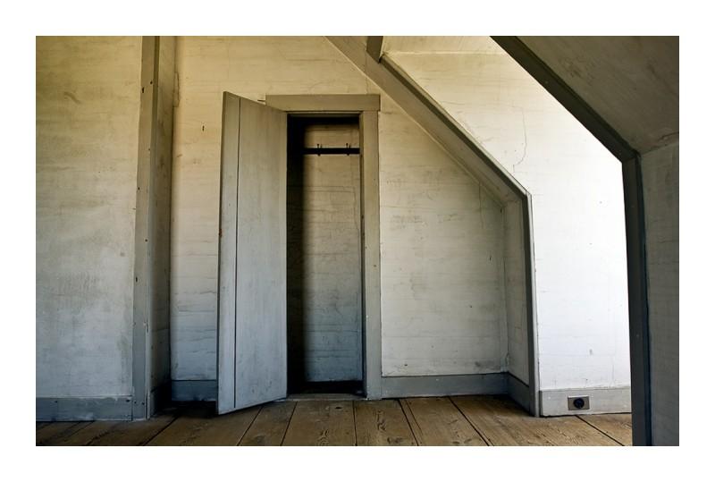 closet olson house wyeth
