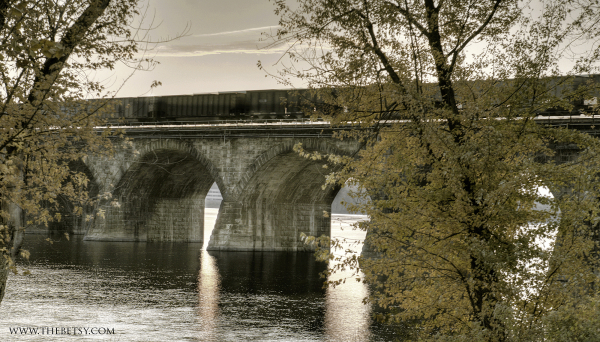 harrisburg, bridge, railroad, susquehanna, pennsy