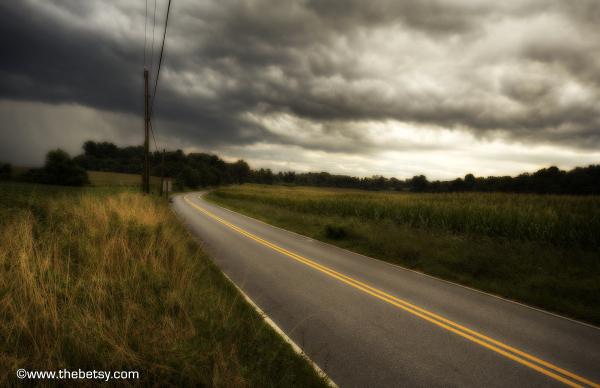 storm lionville rain clouds fields farm hdr