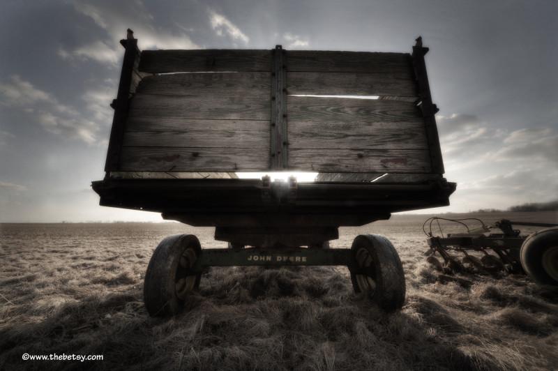john deere, farm, fields, hdr, tractor, sunset