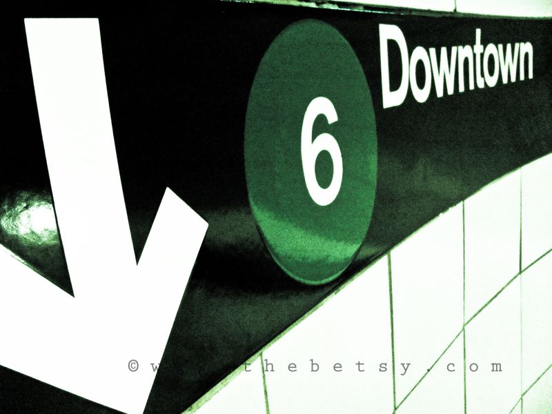subway, new_york_city, downtown, sign, street