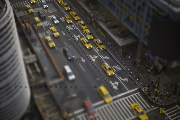 city, new york, taxi, cab, street, tilt