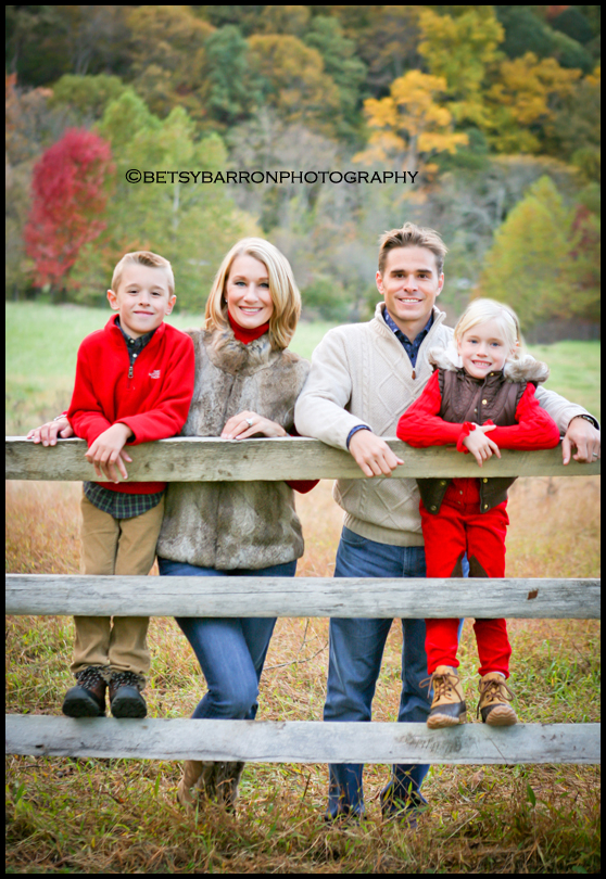 family, portrait, christmas, fall, autumn, fence