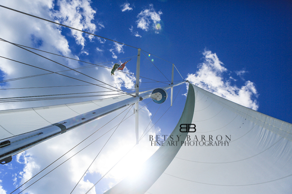 sail, boat, bvi, island, sun, vacation, sky, cloud