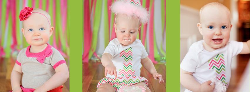 first, birthday, girl, baby, cake