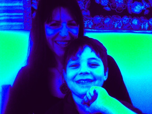 me and luca again