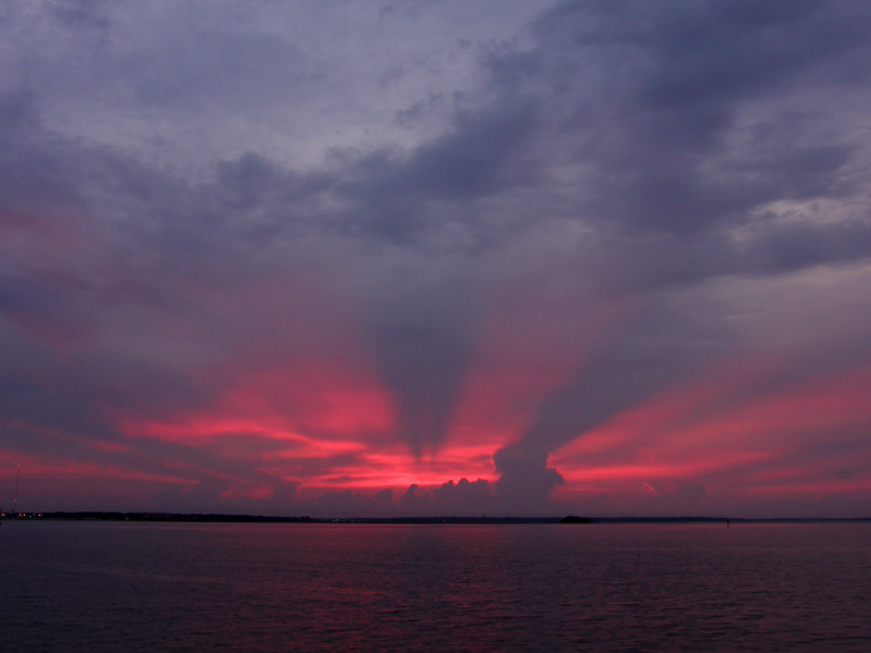 Charleston Harbor Sunrise 20070725