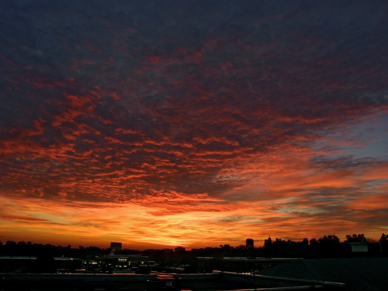 Raleigh Sunrise 20081111