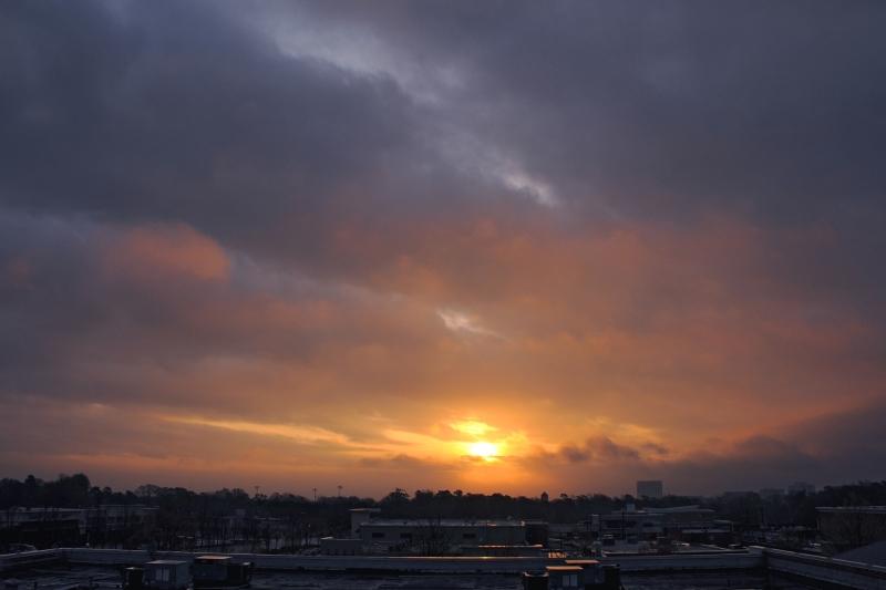 Raleigh Sunrise 20090328
