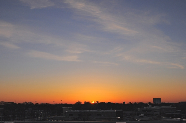 Raleigh Sunrise 20090330