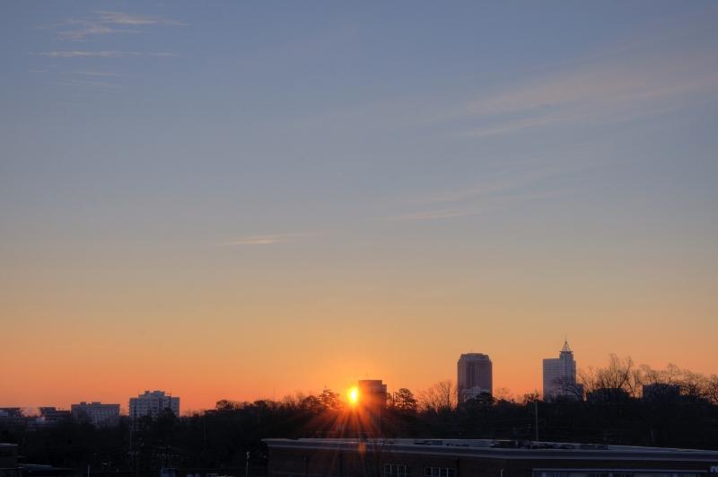 Raleigh Sunrise 20100103