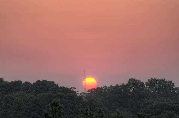 Raleigh Sunrise 20100730