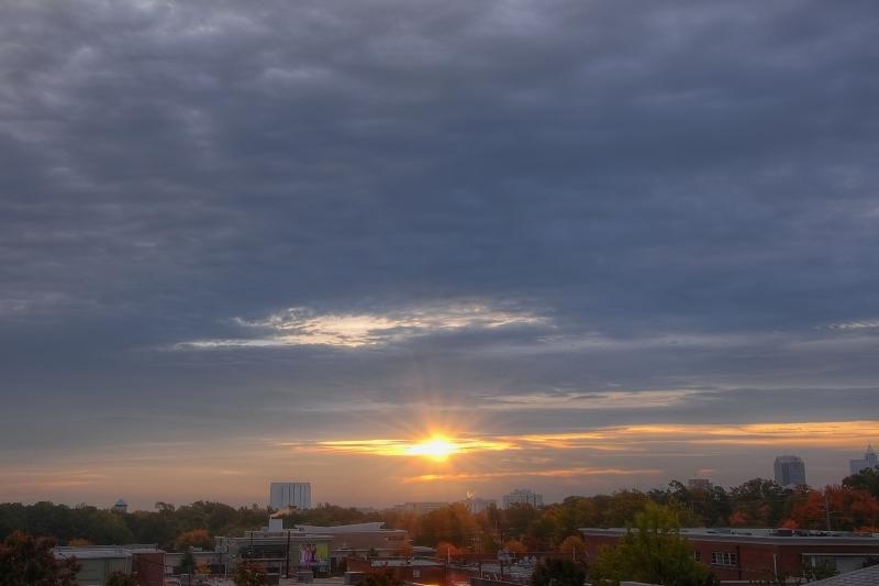 Raleigh Sunrise 20091026