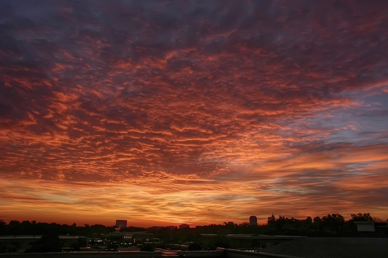 Raleigh Sunrise 20091112
