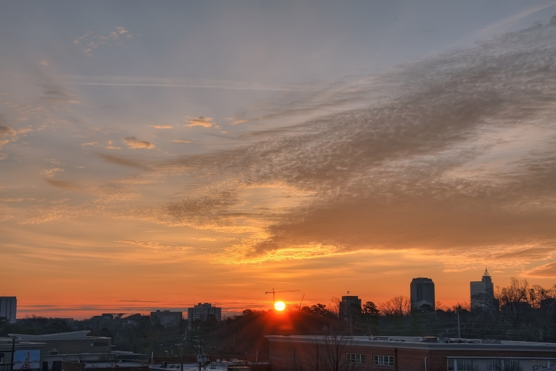 Raleigh Sunrise 20110120