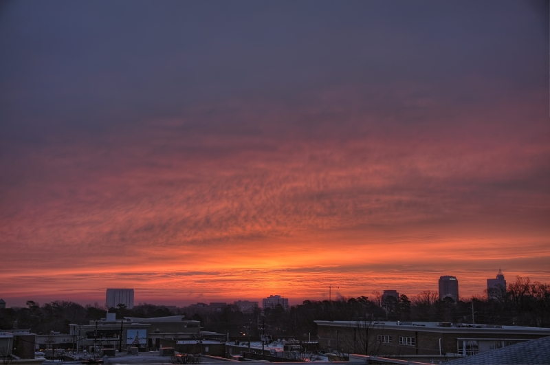 Raleigh Sunrise 20110128