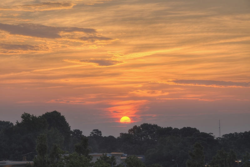 Raleigh Sunrise 20100605