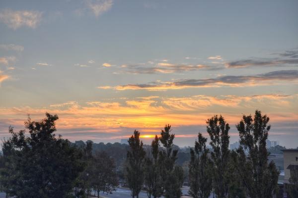 Raleigh Sunrise 20111024