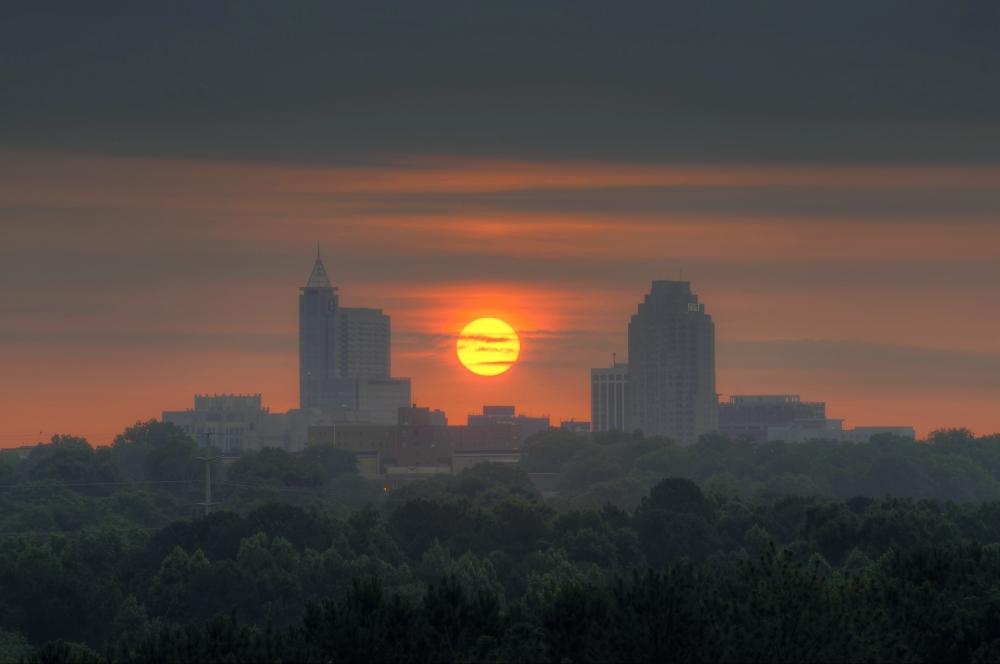 Raleigh Sunrise 20130605