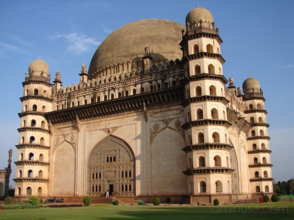 Gol-Gumbaz Side View