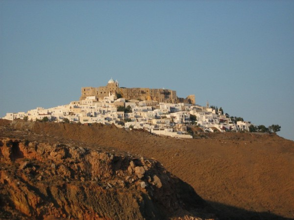 Chora Astypalea island dodecanese panoramic vi