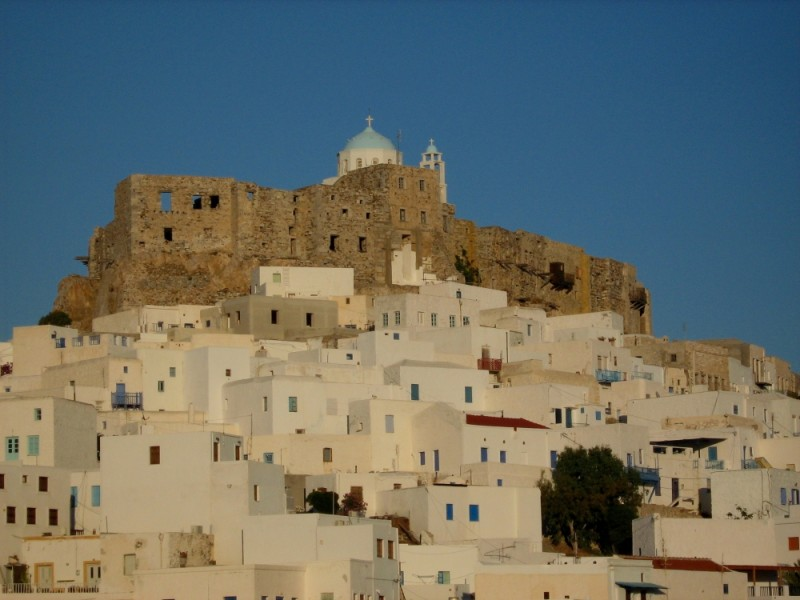 Astypalea, Astypalaia, Chora, castle, dodecanese