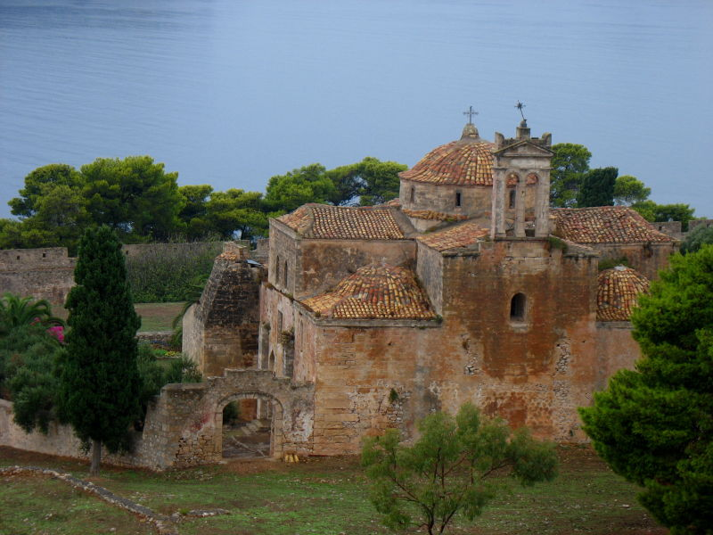 castle Pylos Peloponnese Christ transfiguration