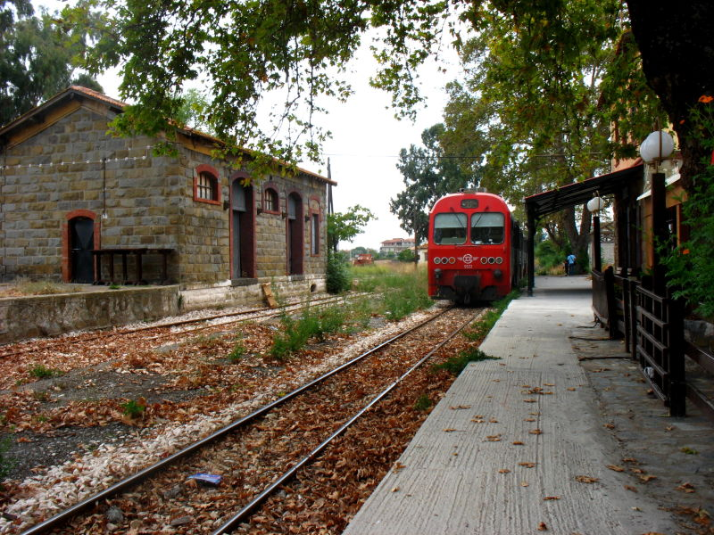 Old train station Messini  Peloponnese
