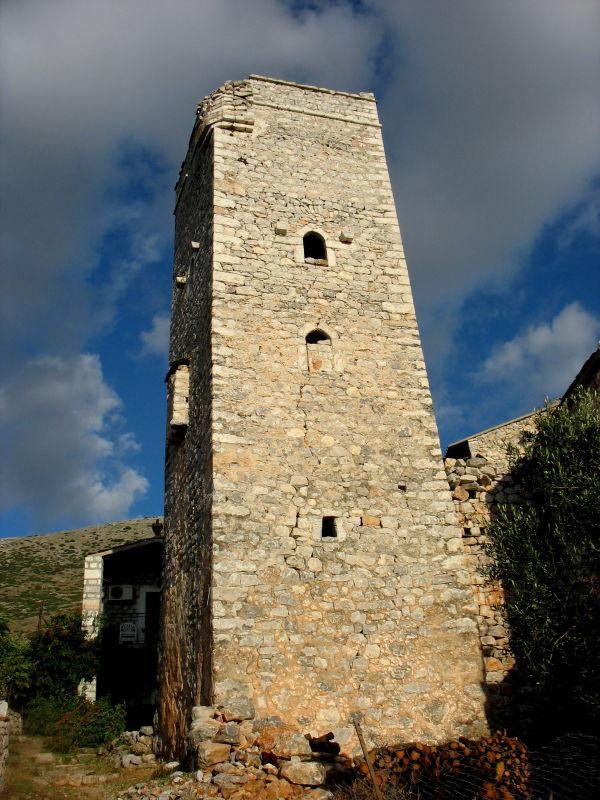 tower mani Greece peloponnese