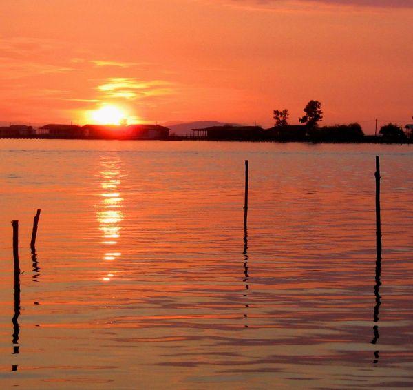 Mesologgi sunset  Greece