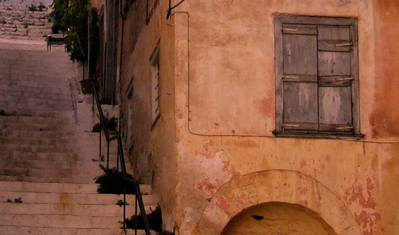 Nafplio old house architecture peloponnese greece