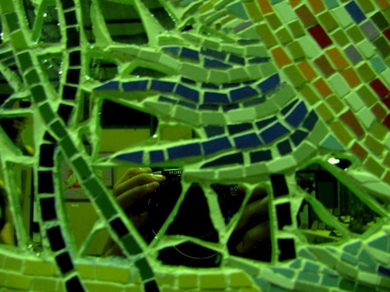 camera mosaic mirror